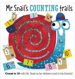 Make Believe Ideas Mr. Snail's Counting Trails Board Book