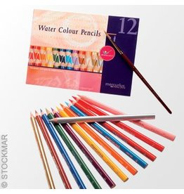 Mercurious Water Colour Pencils 12-Pack by Mercurious