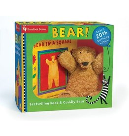 Barefoot Books Bestselling Book & Cuddly Plush Bear Set by Barefoot Books