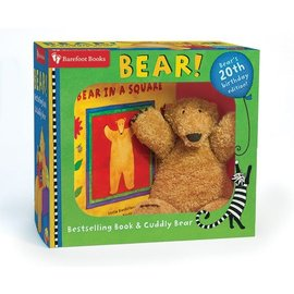 Barefoot Books Bestselling Book & Cuddly Plush Bear Set by Barefoot Books