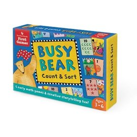 Barefoot Books Busy Bear Count & Sort Game