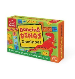 Barefoot Books Dancing Dinos Dominoes