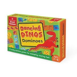 Barefoot Books Dancing Dinos Dominoes