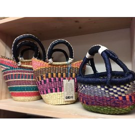 Blue Moma Bolga Baskets - Fair Trade ~