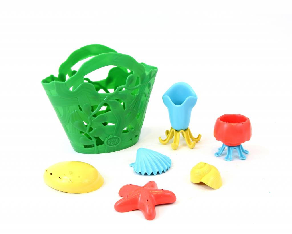 Green Toys Tide Pool Bath Set by Green Toys