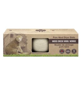 Moss Creek Wool Works Wool Dryer Balls 3-Pack