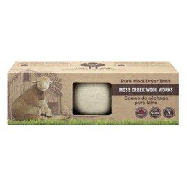 Moss Creek Wool Works Wool Dryer Balls 3-Pack