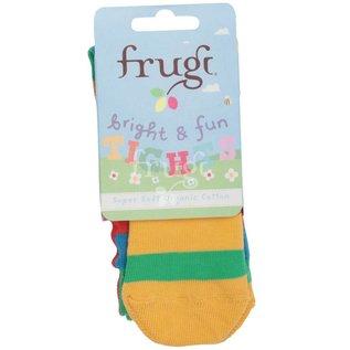 Frugi Little Girls Organic Cotton Tights by Frugi