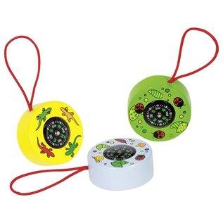 Goki Wooden Compass Toy