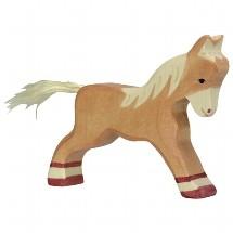 Holztiger Wooden Animal Figures ~ Horses & Ponies #2 ~ by Holztiger