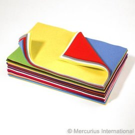 Mercurious Wool Felt Sheet (Assorted)
