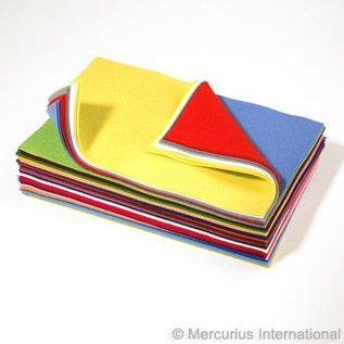 Mercurious Wool Felt Sheets (Assorted)