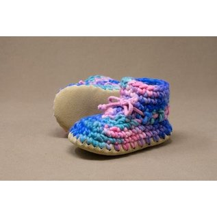 Padraig Children's Padraig Slippers with Wool Sheepskin & Leather