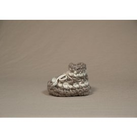 Padraig Newborn Padraig Slippers with Wool, Sheepskin & Leather