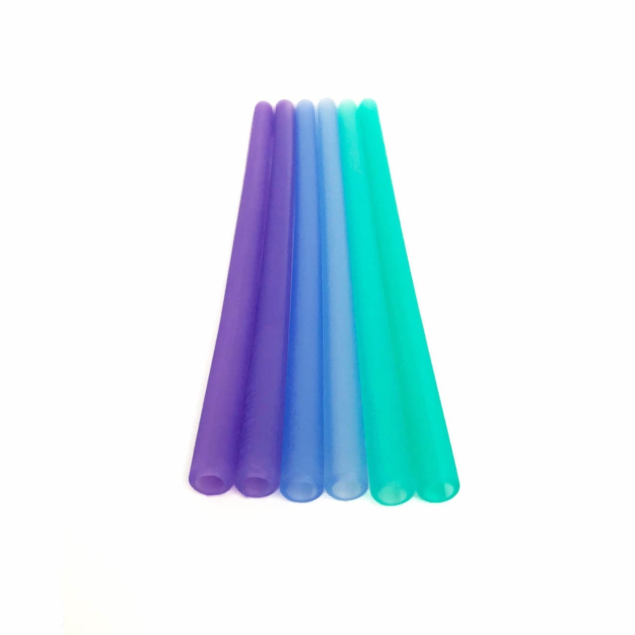 Silikids Reusable Silicone Straws 6-Pack