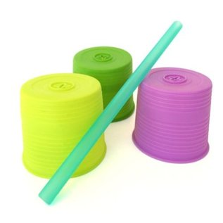 Silikids Universal Silicone Straw Tops