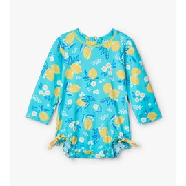 Hatley Baby Girl Rash Guard One-Piece Suit by Hatley