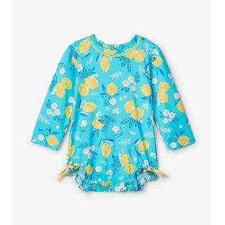 Hatley Baby Girl Rash Guard One-Piece Suit by Hatley