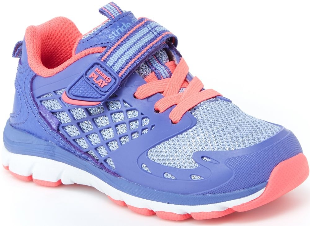 Stride Rite Cannan Blue/Pink Made 2 Play Running Shoe by Stride Rite