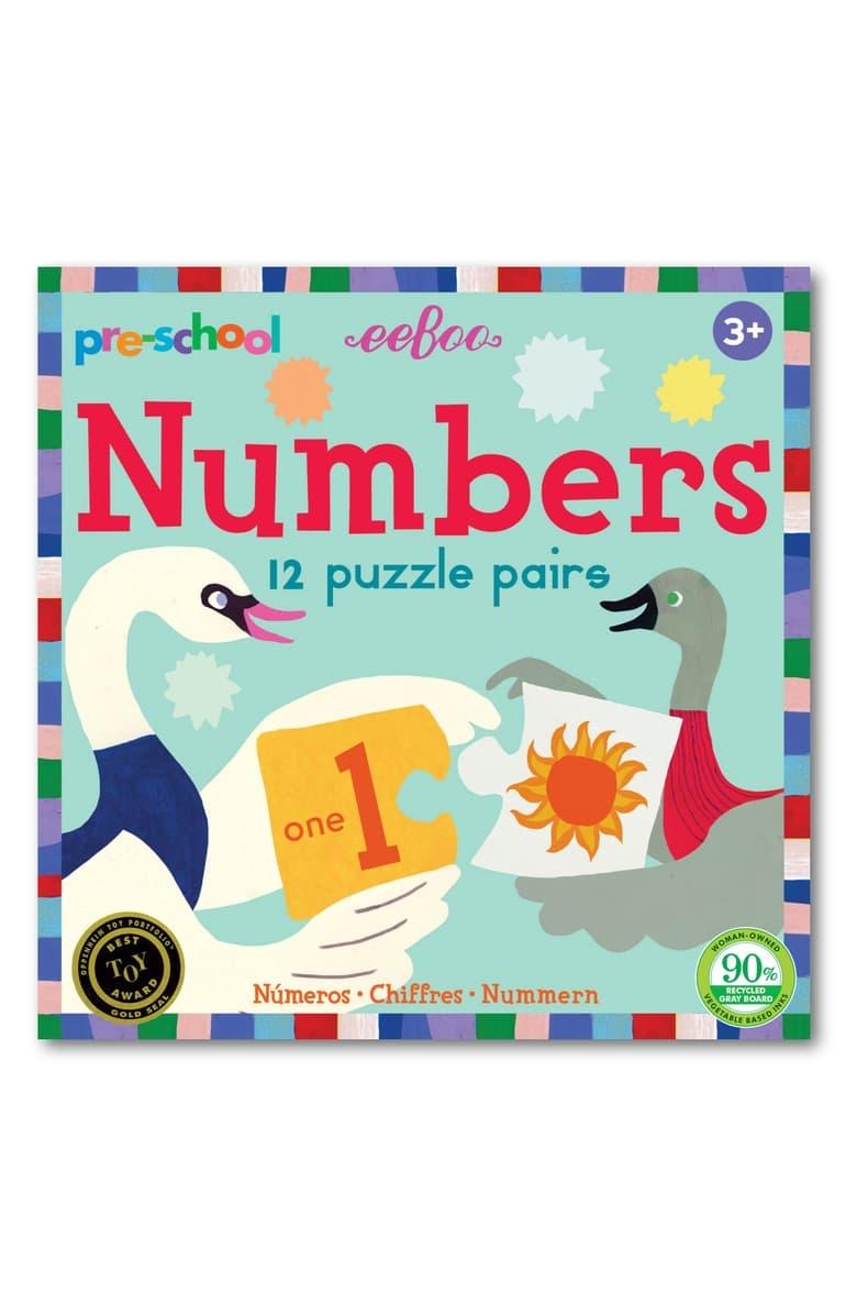 Eeboo Puzzle Pairs