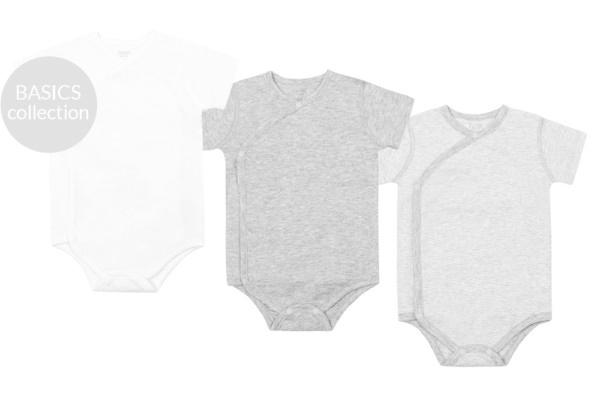 Nest Designs Short Sleeve Kimono Onesie
