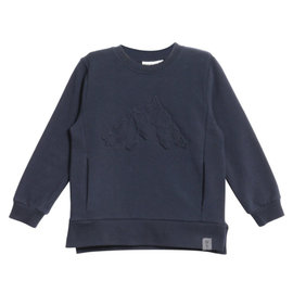 WHEAT KIDS Sweater with Embossed Mountains by Wheat Kids