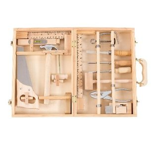 Moulin Roty Wooden Tool Box Set by Moulin Roty