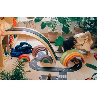 WaytoPlay Rubber Flexible Toy Road by Waytoplay