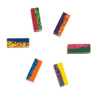 Moulin Roty Wax Block Crayons Mult-Coloured by Moulin Roty