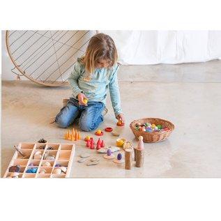 Grapat Wood Tinker Tray for Sorting by Grapat