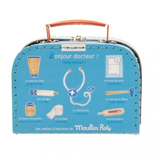 Moulin Roty Wooden Doctors Medical Suitcase by Moulin Roty