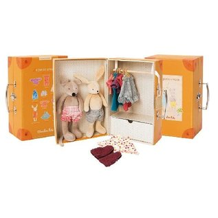 Moulin Roty Little Wardrobe Suitcase by Moulin Roty