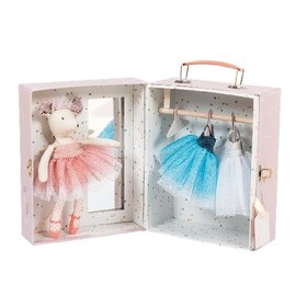 Moulin Roty Ballerina Suitcase with Outfits by Moulin Roty