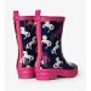 Hatley Playful Horses Rain Boots by Hatley