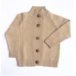 Nooks Design Merino Wool Cardigan by Nooks Design