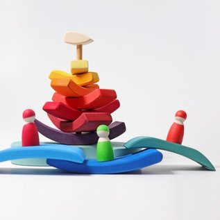 Grimms Grimms Stacking Tower Boat