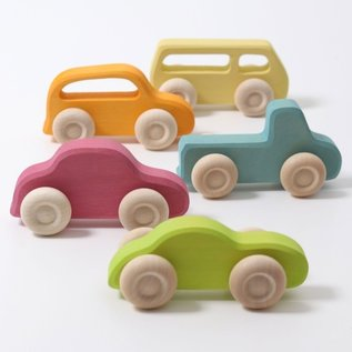 Grimms Wooden Slimline Vehicles by Grimms