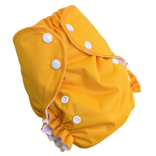 AMP One-Size Duo Cloth Diaper by AMP (Dark Colours)
