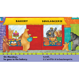 Barefoot Books French English Bear Book Series