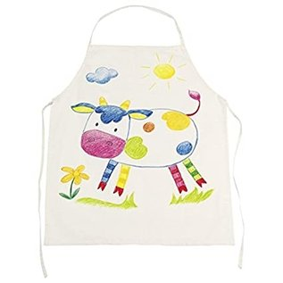 Goki Natural Cotton Apron (Can be Decorated)