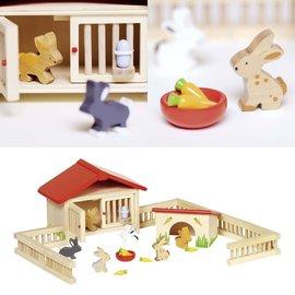 Goki Rabbit Hutch Playset by Goki