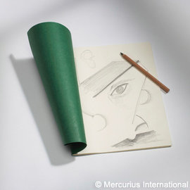 Mercurious Sketch Book Green Cover