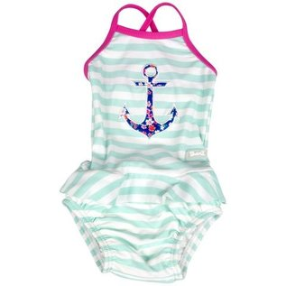 BabyBanz Girls One Piece Bathing Suit by Babybanz