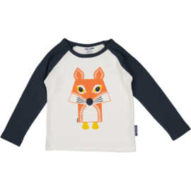 Coq en Pate Long Sleeve T-Shirt Fox by Coq en Pate