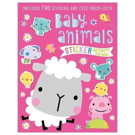 Make Believe Ideas Baby Animals Sticker Book