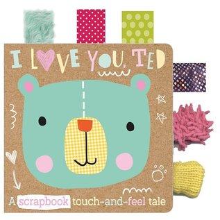 Make Believe Ideas I Love You, Ted Board Book