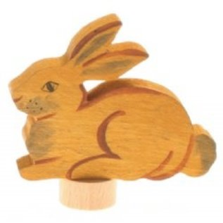 Grimms Hand Coloured Rabbit Deco Figures by Grimms