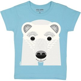 Coq en Pate Polar Bear T-Shirt by Coq en Pate