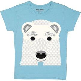 Coq en Pate Polar Bear T-Shirt by Coq en Pate