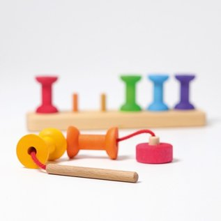 Grimms Threading Game (Small Bobbins)